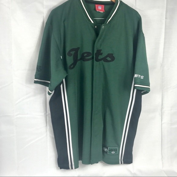 1993c9a20 NFL New York Jets jersey style shirt